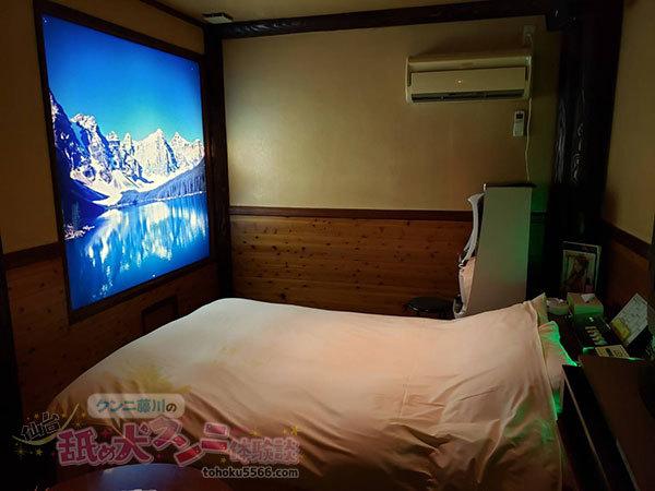 クンニ前のベッド