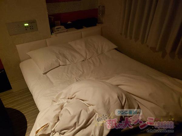 ホテルフィゴーナ ベッド
