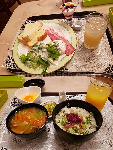 ホテルパティオ 朝食