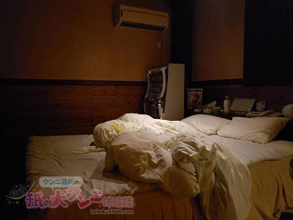クンニ後のベッド