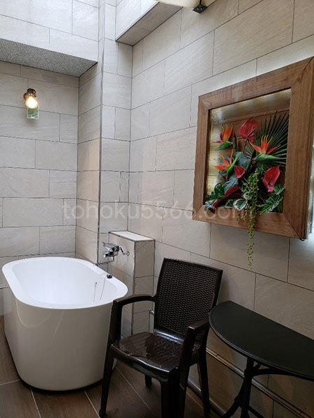 アジアンホテルキャラ お風呂