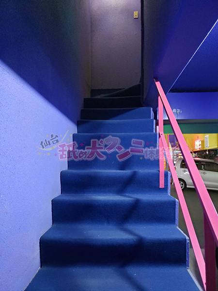 プレリュードルナシス 階段