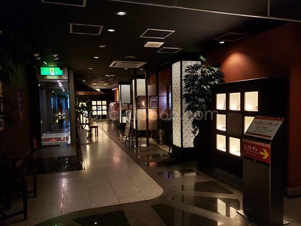 アジアンホテルキャラ フロント