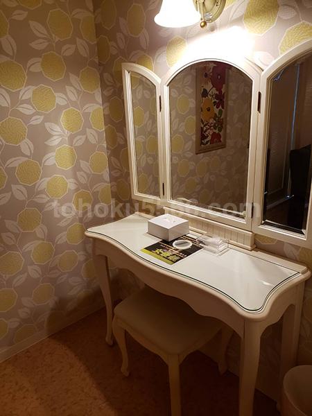 ホテルパティオ三面鏡