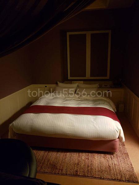 ホテルアンジュ ベッド使用前