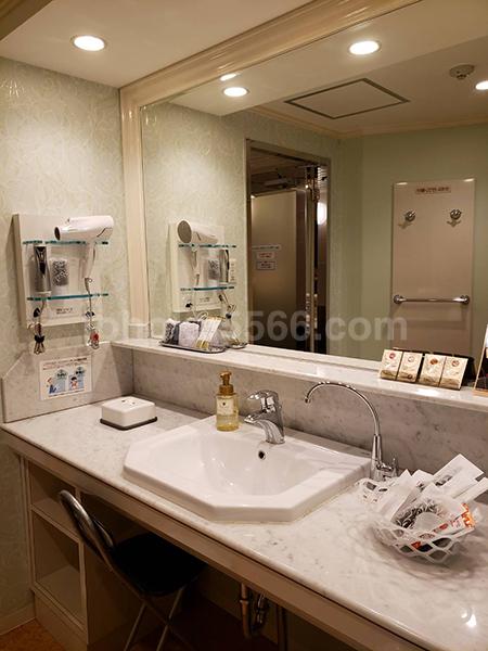 ホテルパティオ洗面所