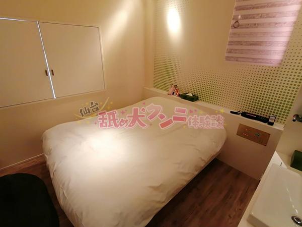 エイチギャラリーホテル ベッド